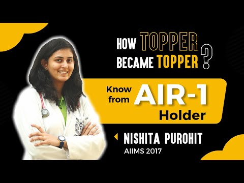 How to prepare for NEET & AIIMS | Listen from the All India Topper Nishita Purohit  AIIMS 2017