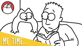 'Me Time' As A Cat Owner - Simon's Cat | STORYTIME