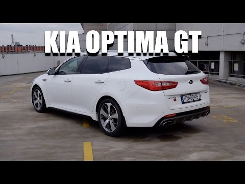 KIA Optima Sportswagon GT 245 hp (ENG) - Test Drive and Review