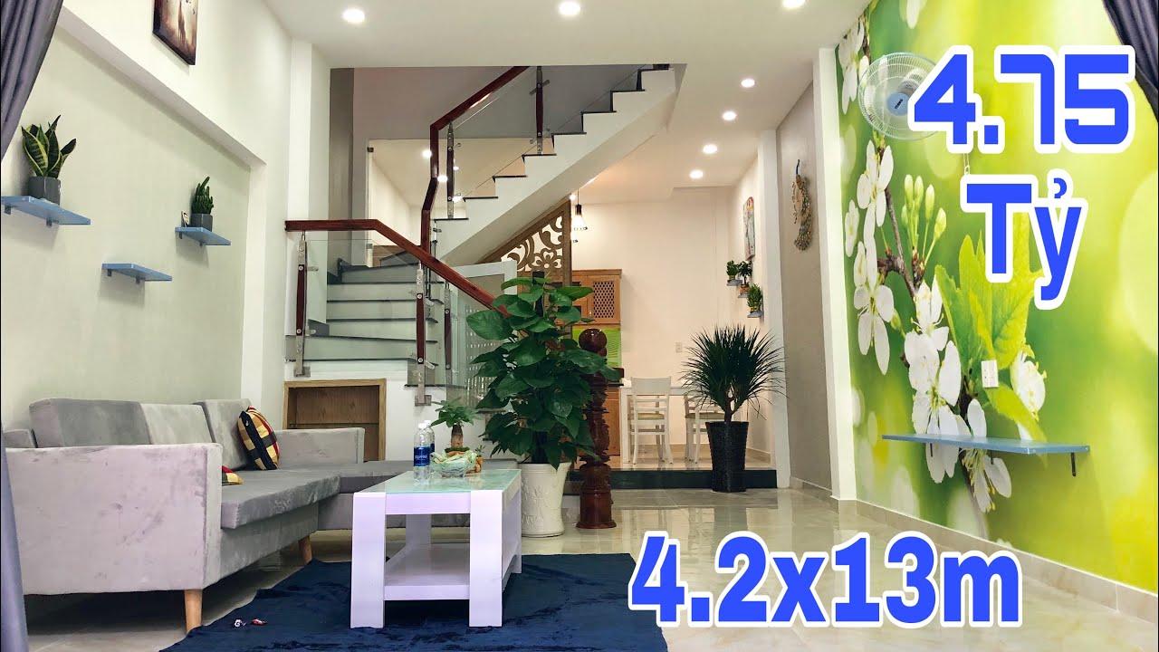 Bán nhà Gò Vấp | Nhà đẹp 4.2x13m do kiến trúc sư trẻ thiết kế|giá cực rẻ 4.75 tỷ