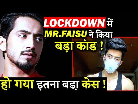 Tik Tok Star Faisal Shaikh Gets In Legal Trouble Due To A Video On Lockdown!!