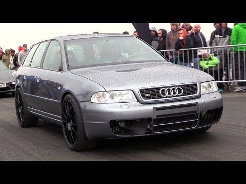 [SLEEPER] 1200HP Audi S4 B5 w/ 3.0L RS4 Engine – 300 KM/H ACCELERATION!!