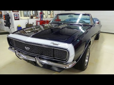 SOLD SOLD SOLD 1967 Chevrolet Camaro Convertible 327 Tremec 5-Speed Low  Miles