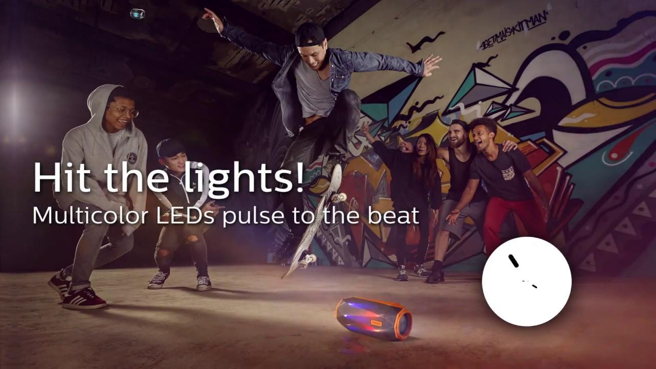 Głośnik Bluetooth Philips ShoqBox SB500