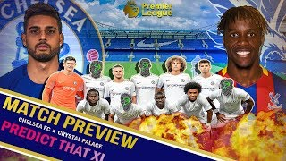 Chelsea vs Crystal Palace MATCH PREVIEW ||WHY Palace are Conte's Bogey Team || Emerson PREM DEBUT?