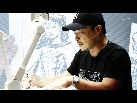 DC Comics Art Academy Featuring Jim Lee