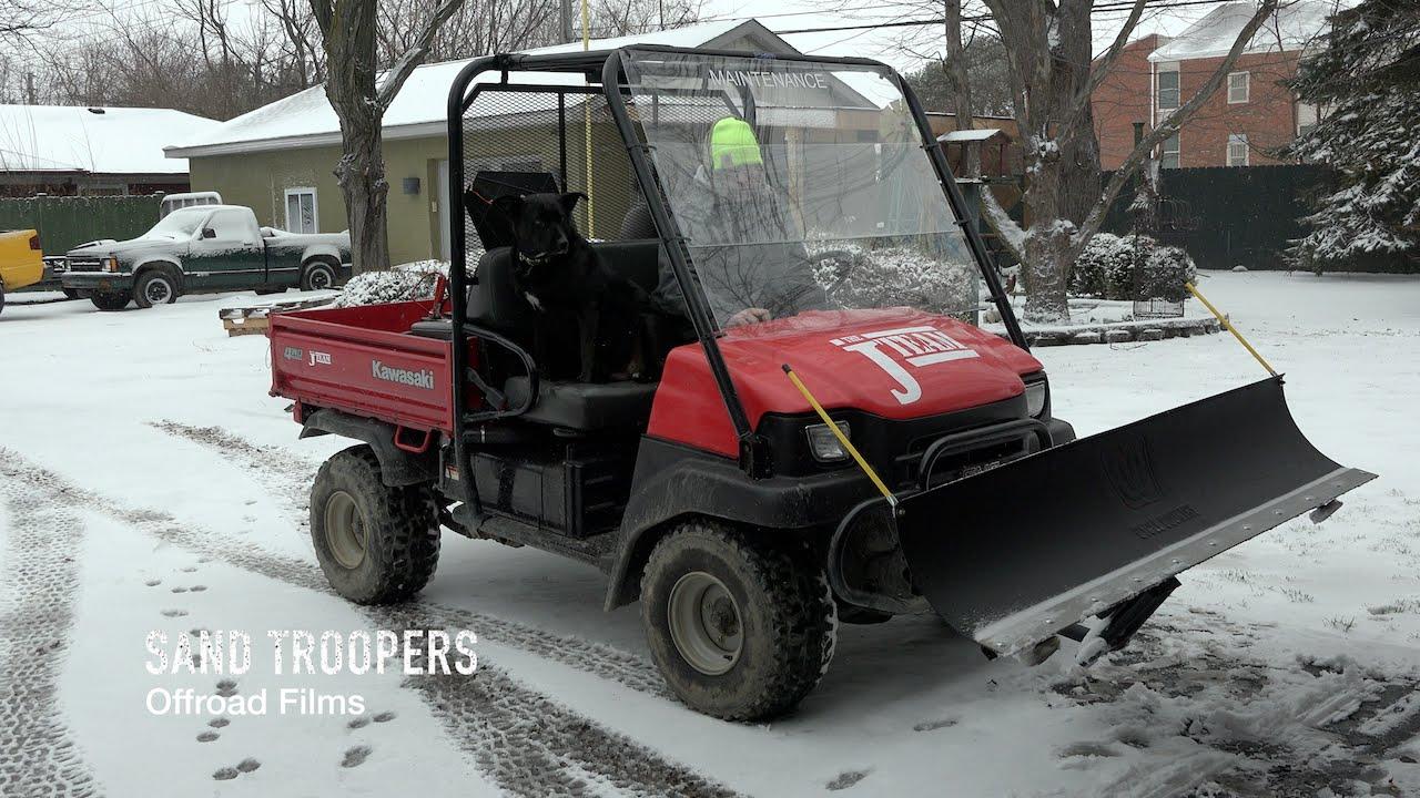 Kawasaki Mule  Snow Plow