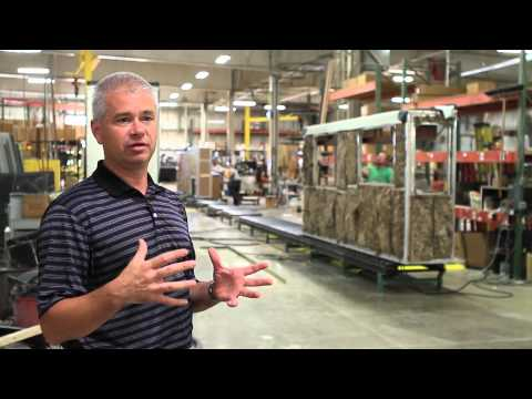 Newmar Factory Tour - Nappanee, Indiana