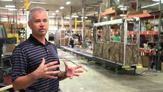 Newmar Factory Tour  Nappanee, Indiana