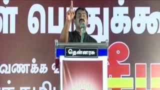 காவல் துறை எப்படி செயல்பட வேண்டும்? - சீமான் | Seeman Speech about Police in Maveerar Naal 2015