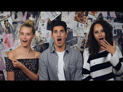 Zouden wij naakt gaan voor Holland's Next Top Model? | MODEL TALK | MILAN CARVALHO