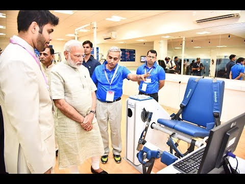 PM Modi's Visit to Arena Project Exhibition in Ahmedabad, Gujarat
