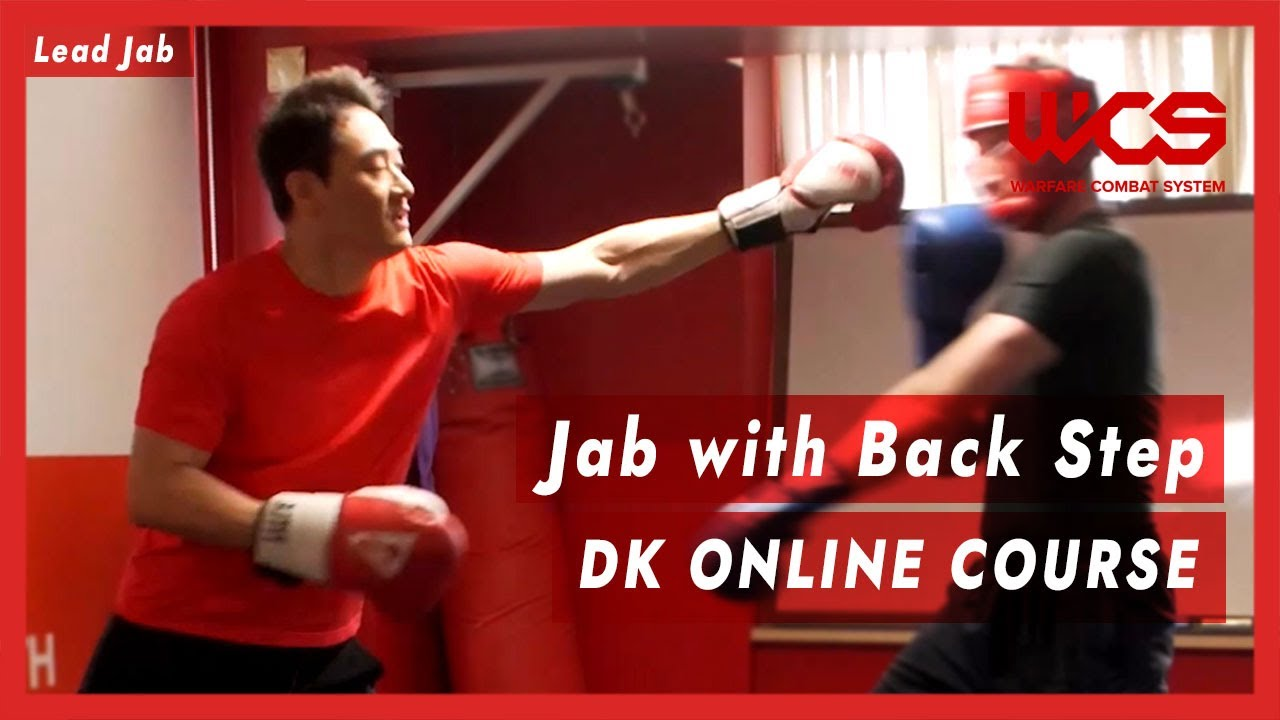 Jab with Back Step - DK Online Course | DK Yoo