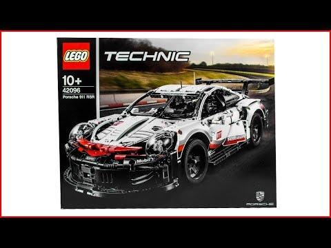 1580 pieces Nouveau Lego 42096 Technic PORSCHE 911 RSR Building Set
