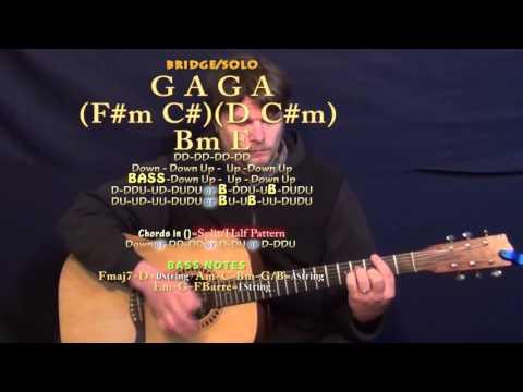 Heal the World (Michael Jackson) Guitar Lesson Chord Chart