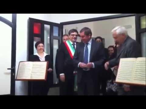 Inaugurato il Conservatorio dal Ministro