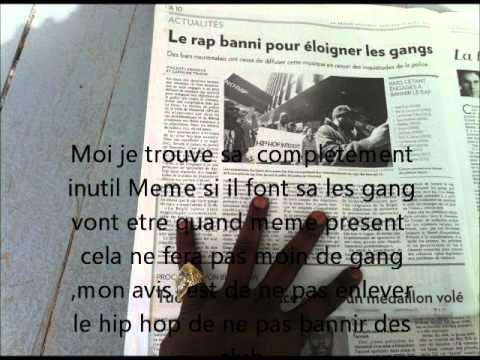 Le rap banni pour éloigner les gang !! La Presse de Montreal