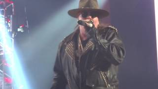 Guns N' Roses - Civil War (The Joint at Hard Rock Hotel & Casino, 6/7/2014) Las Vegas Nevada
