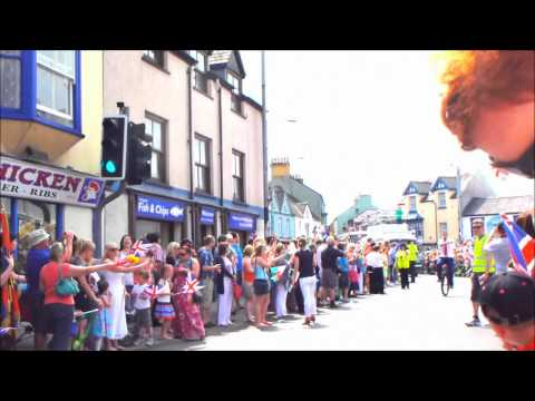 Olympic Torch Fishguard 27/05/12
