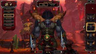 Battle for Azeroth Horde Allied Races Character Creation | World of Warcraft (WOW) BFA 8.0