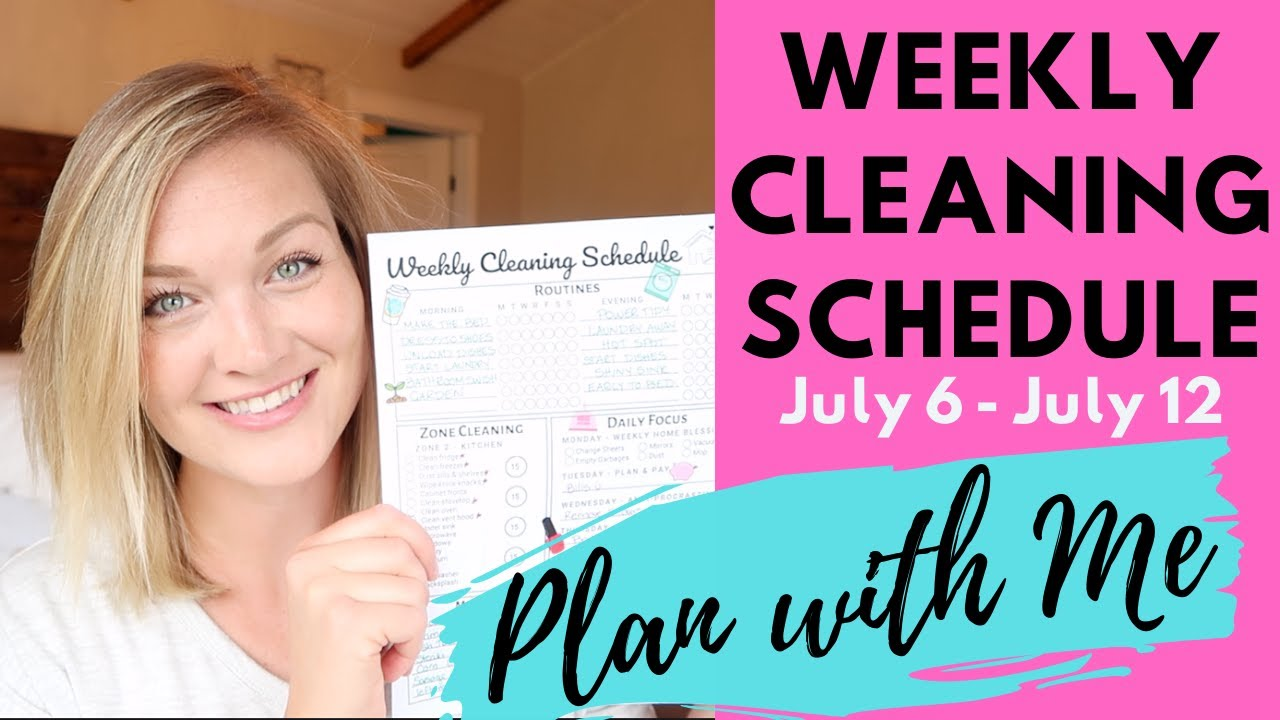 Ultimate Weekly Plan with Me | Cleaning Schedule, Meal Plan, To-Do List & Daily Routines