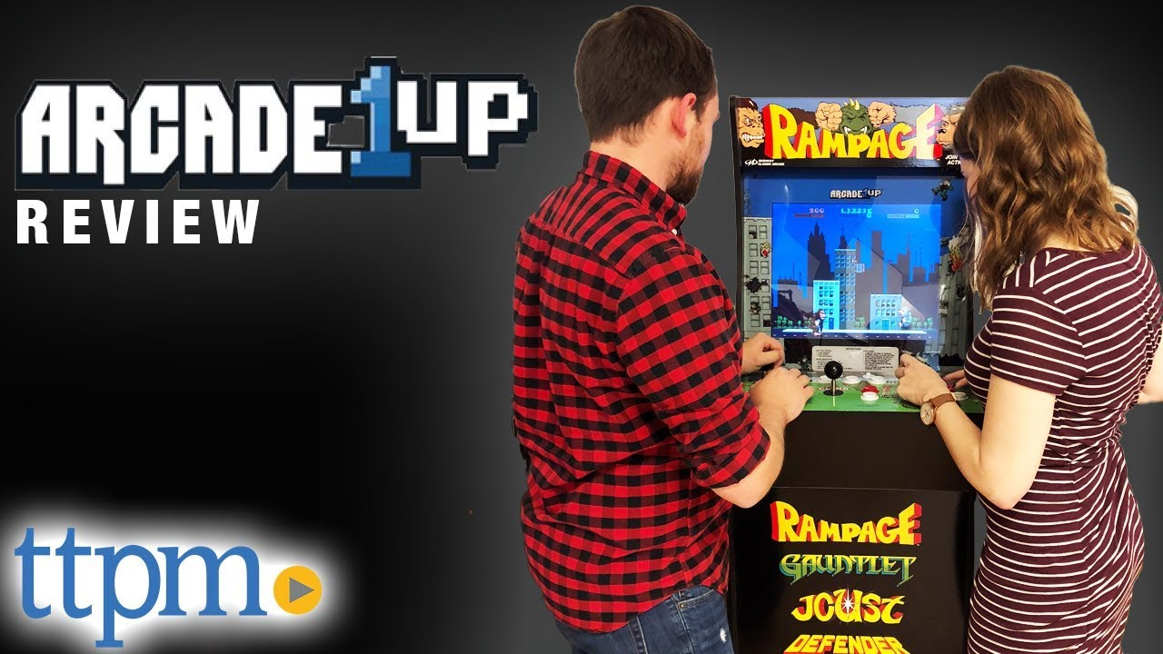 Arcade1Up Asteroids and Rampage from Tastemakers, LLC