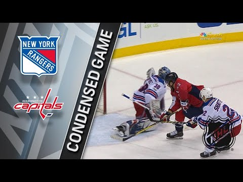 12/08/17 Condensed Game: Rangers @ Capitals