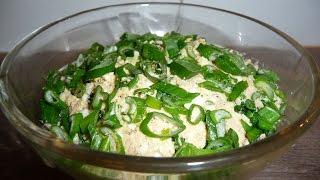 видео Салат из печени трески