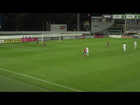 Česká republika U21 - Řecko U21