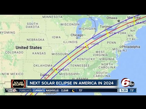 Indianapolis is in the path of the next total solar eclipse