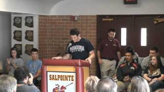 Kevin Brice Signing Day Salpointe Catholic High School Pomona College Baseball