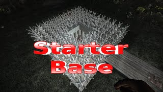 7 Days To Die Early Game Starter Base Beginner Design