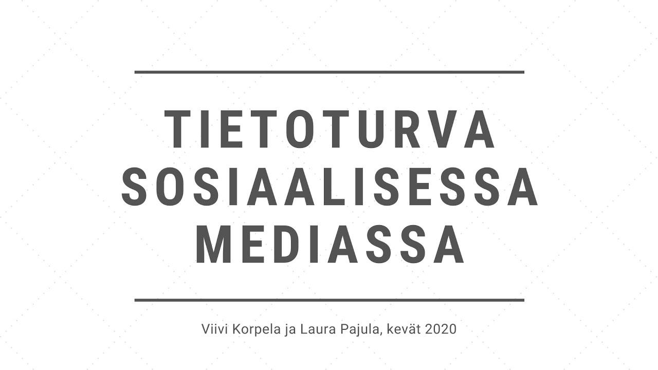 Sosiaalisessa Mediassa