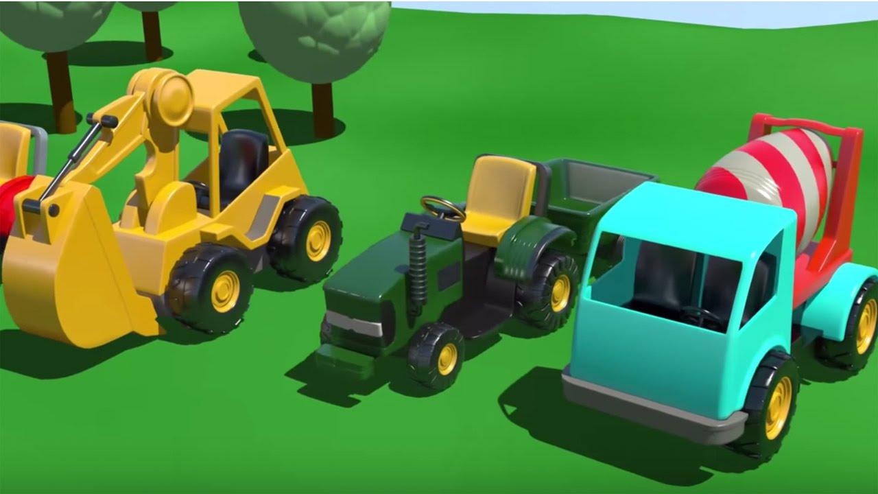 Смотреть онлайн бесплатно Машинки. Зеленая гоночная