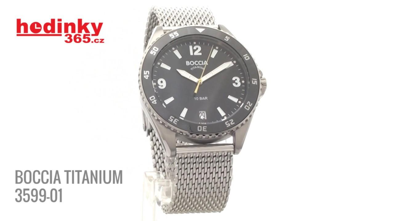 Мужские часы Boccia Titanium 3599-01 Мужские часы Junkers Jun-69463