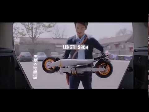Indiegogo - OM - The Best Compact Folding Electronic Scooter
