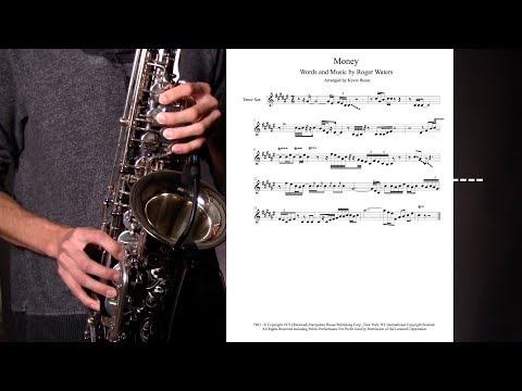 How to Play Money - Pink Floyd Sax Solo