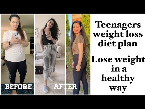 DIET PLAN For TEENAGERS FOR WEIGHT LOSS || LOSE 10 KGS FAST WITH INDIAN FOOD