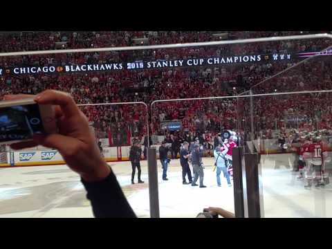 2015 Stanley Cup Presentation & Passing of the Cup w/ the Blackhawks!!