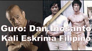 Guro Dan Inosanto alumno amigo y heredero de Bruce Lee y Jeet Kune Do arte marcial JKD