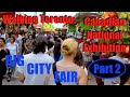 Walking Toronto: Canadian National Exhibition - Part 2 (Games Area & Rides)