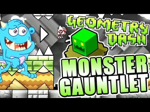 BEST GAUNTLET YET ~ Geometry Dash 2.11 MONSTER GAUNTLET All Levels COMPLETE