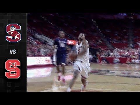 South Carolina State vs. NC State Basketball Highlights (2017-18)