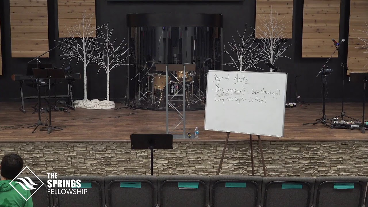 The Springs Fellowship is Live!