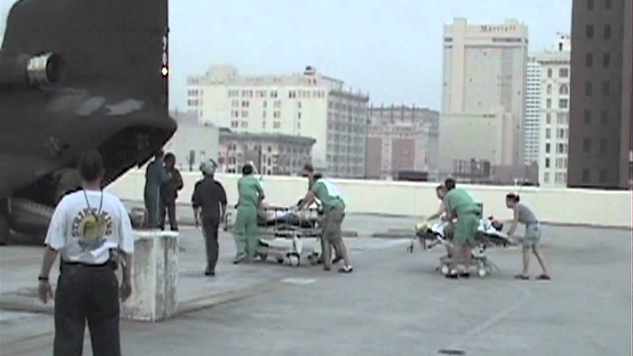 Katrina evacuation of LSU's Charity Hospital - YouTube Hurricanekatrina