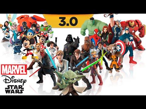 Disney Infinity 3.0 Ещё больше героев (Pixar, MARVEL, Star Wars) Обзор