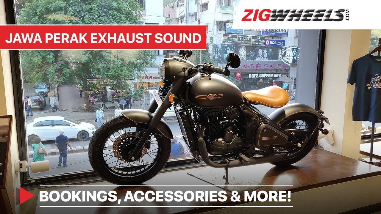 Jawa Perak Sound Bs6 Double Seat Accessories Booking