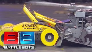 BattleBots Season 2 Exhibition Rumble - The Legends Rumble: Lock-Jaw vs. Stinger vs. Ghost Raptor