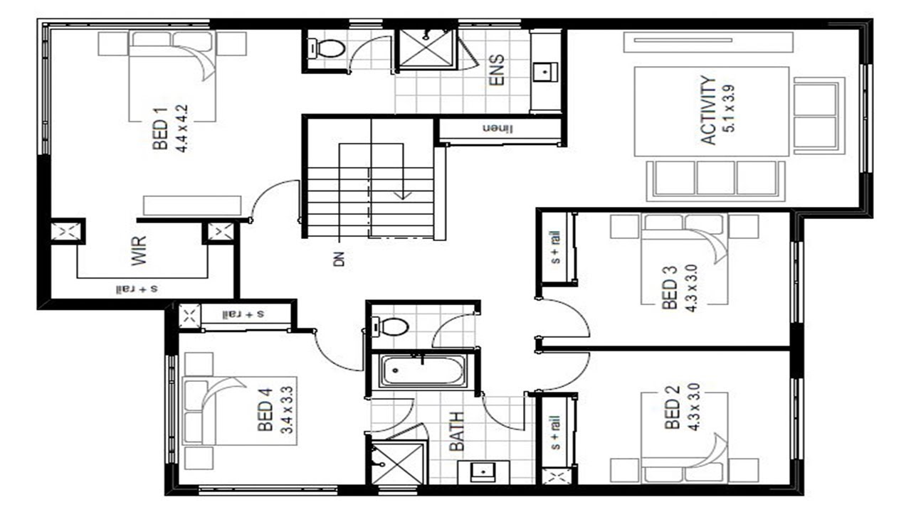 Architectural Floor Plan Design And