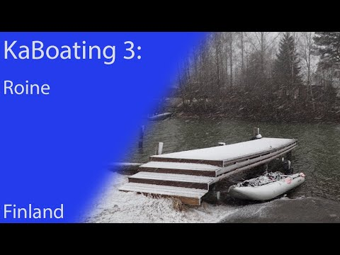 A boat trip to Roine, Finland 2017